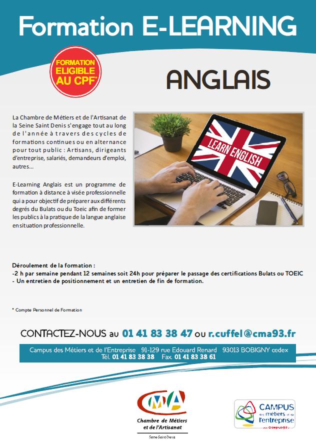 Anglais Chambres De Metiers Et De L Artisanat De Seine Saint Denis